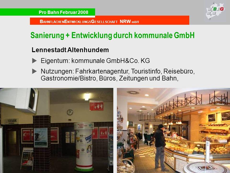 Sanierung + Entwicklung durch kommunale GmbH