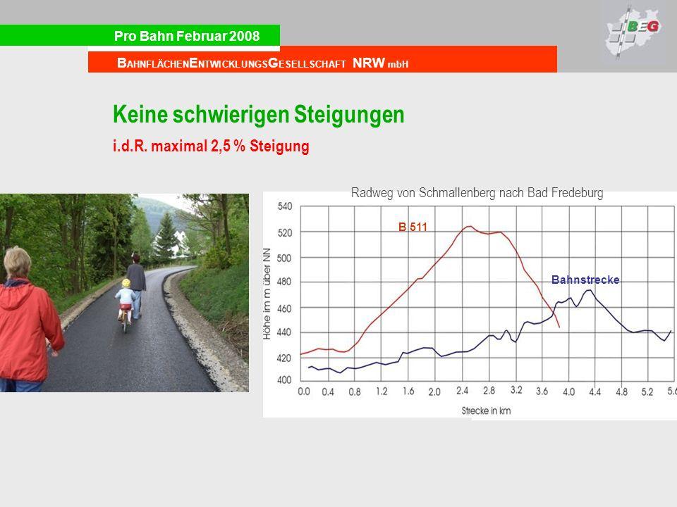 Radweg von Schmallenberg nach Bad Fredeburg