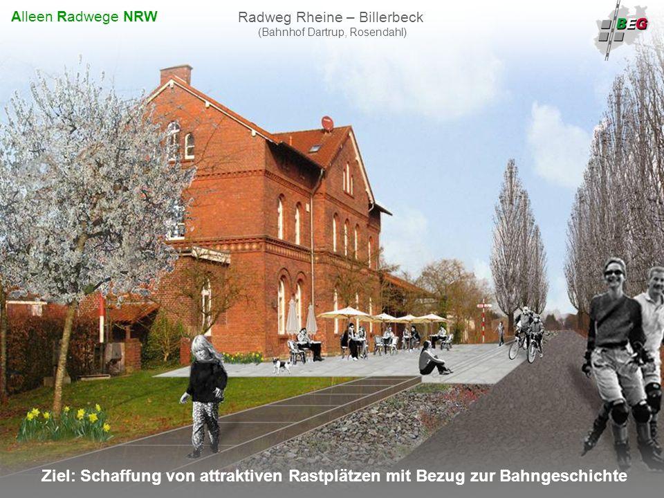 Radweg Rheine – Billerbeck (Bahnhof Dartrup, Rosendahl)
