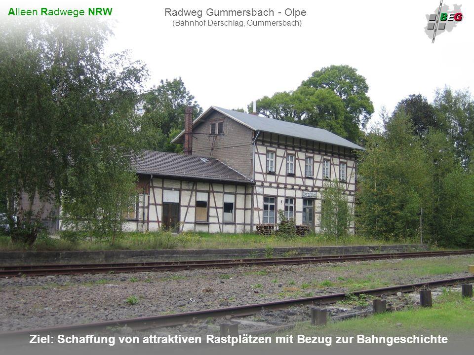 Radweg Gummersbach - Olpe (Bahnhof Derschlag, Gummersbach)