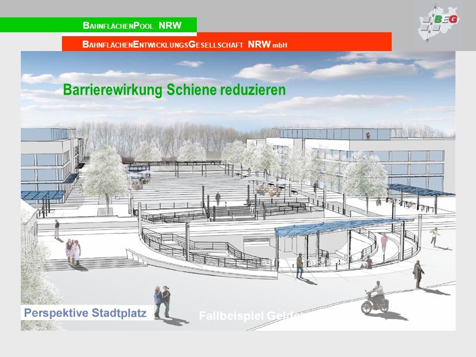 Barrierewirkung Schiene reduzieren