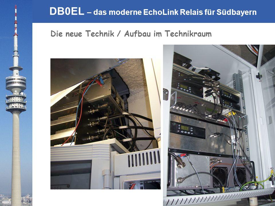 Die neue Technik / Aufbau im Technikraum