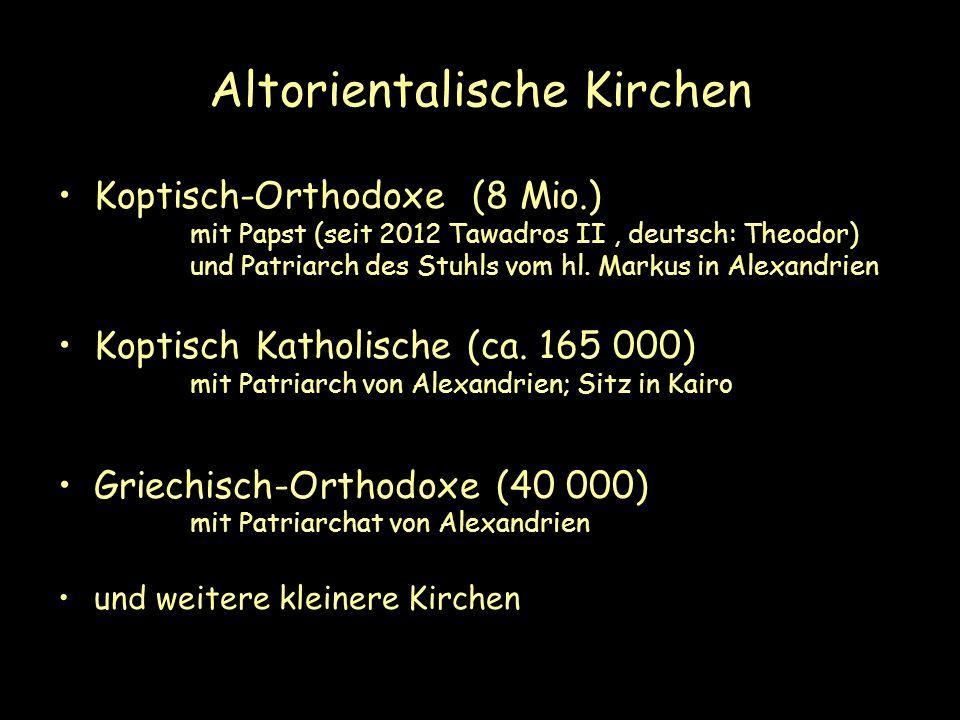 Altorientalische Kirchen