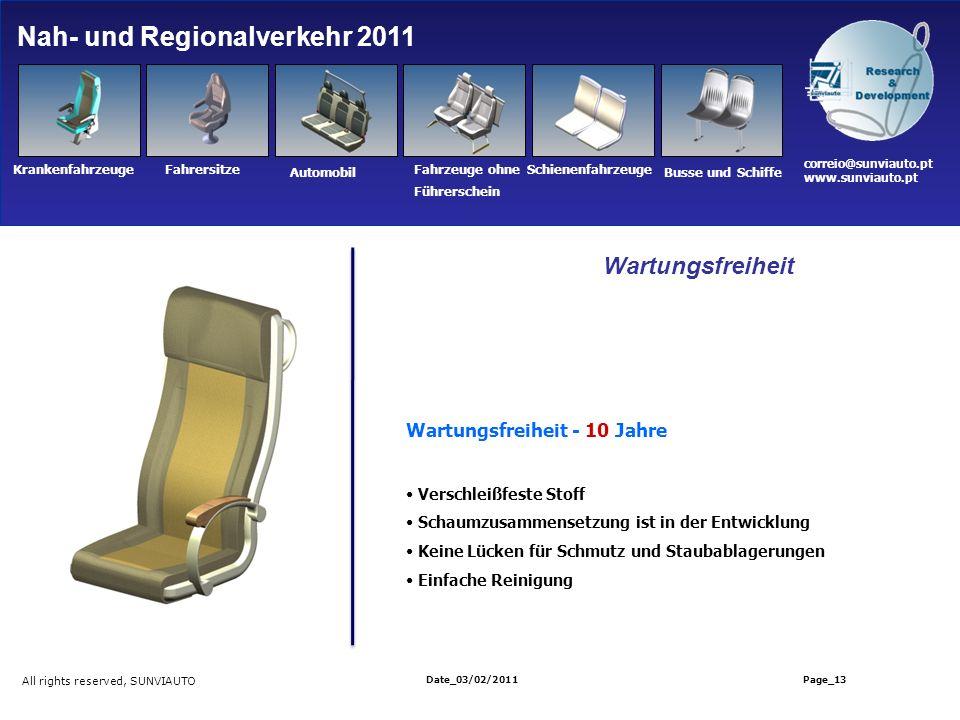 Nah- und Regionalverkehr 2011