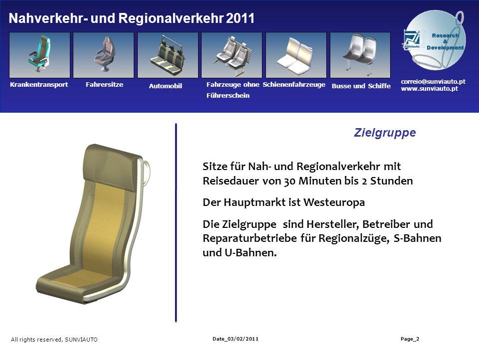 Nahverkehr- und Regionalverkehr 2011