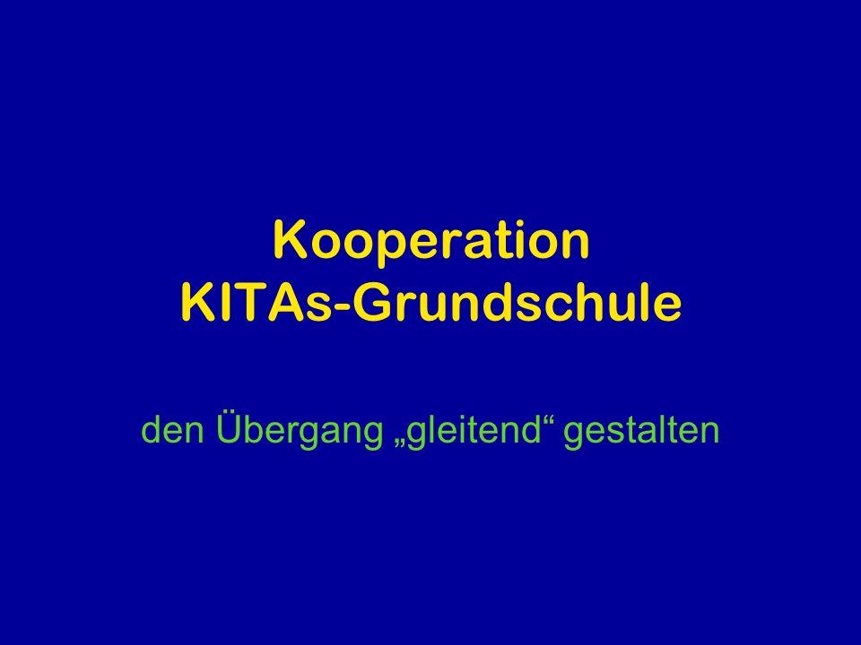 Kooperation KITAs-Grundschule
