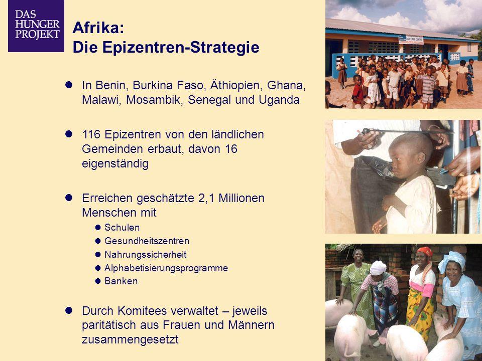 Afrika: Die Epizentren-Strategie