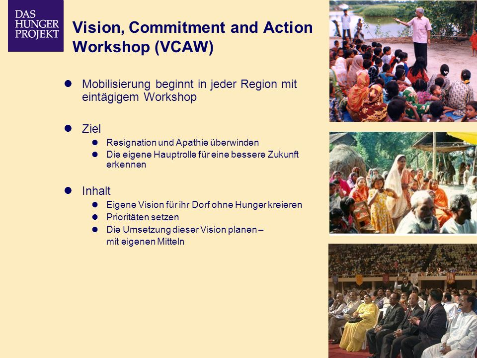 Vision, Commitment and Action Workshop (VCAW)