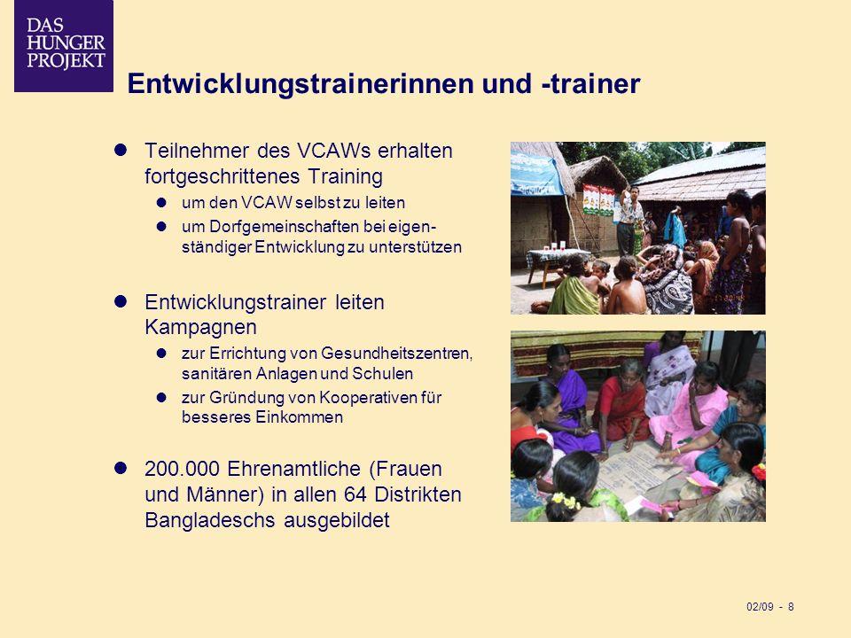 Entwicklungstrainerinnen und -trainer