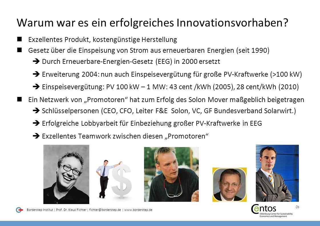 Warum war es ein erfolgreiches Innovationsvorhaben