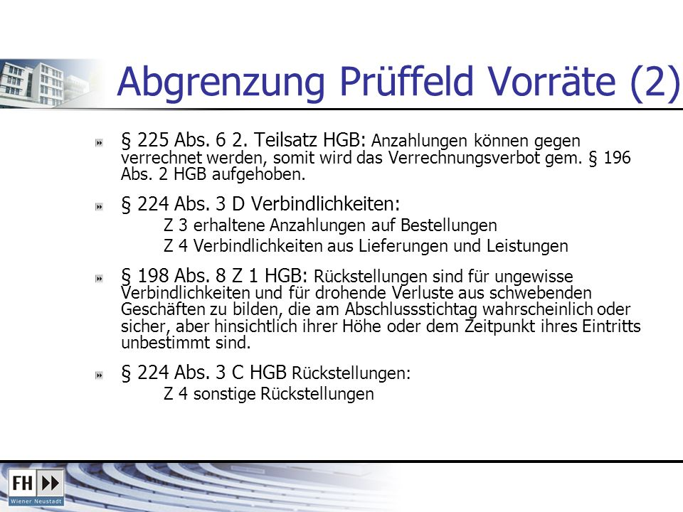 Abgrenzung Prüffeld Vorräte (2)