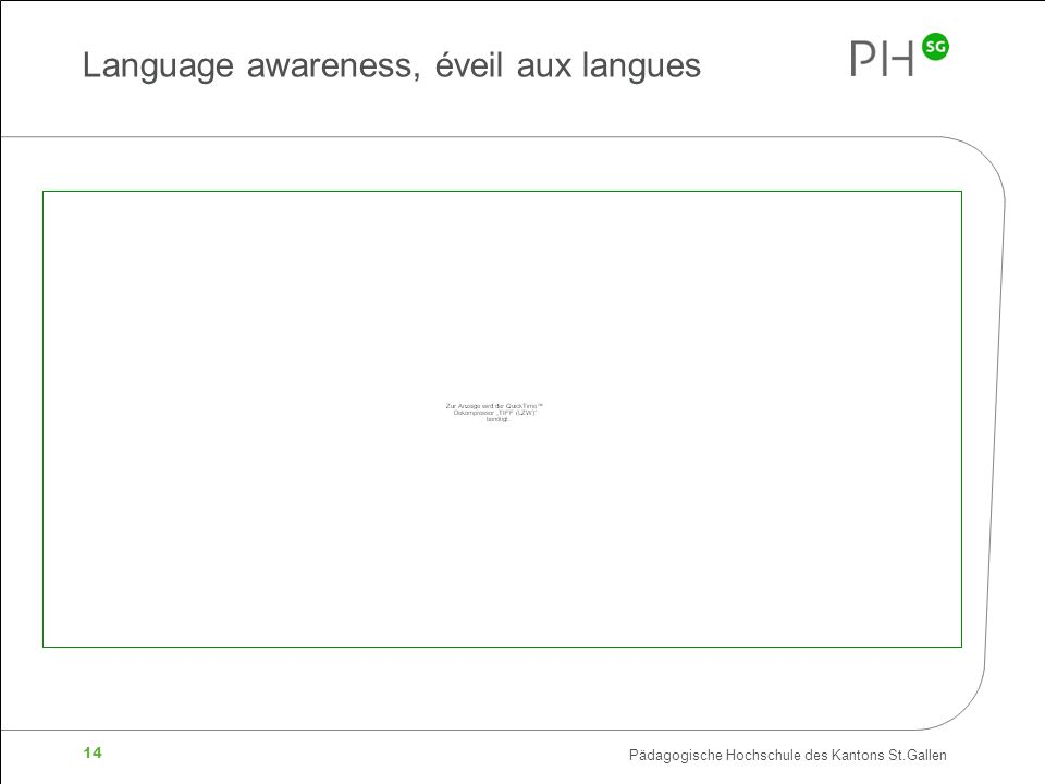 Language awareness, éveil aux langues