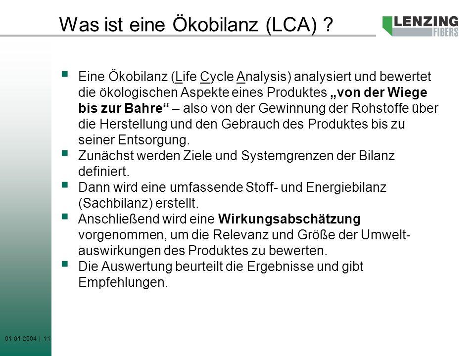 Was ist eine Ökobilanz (LCA)