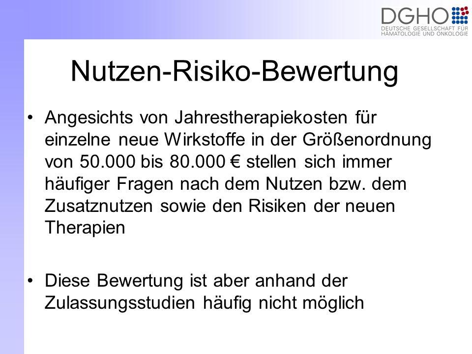 Nutzen-Risiko-Bewertung
