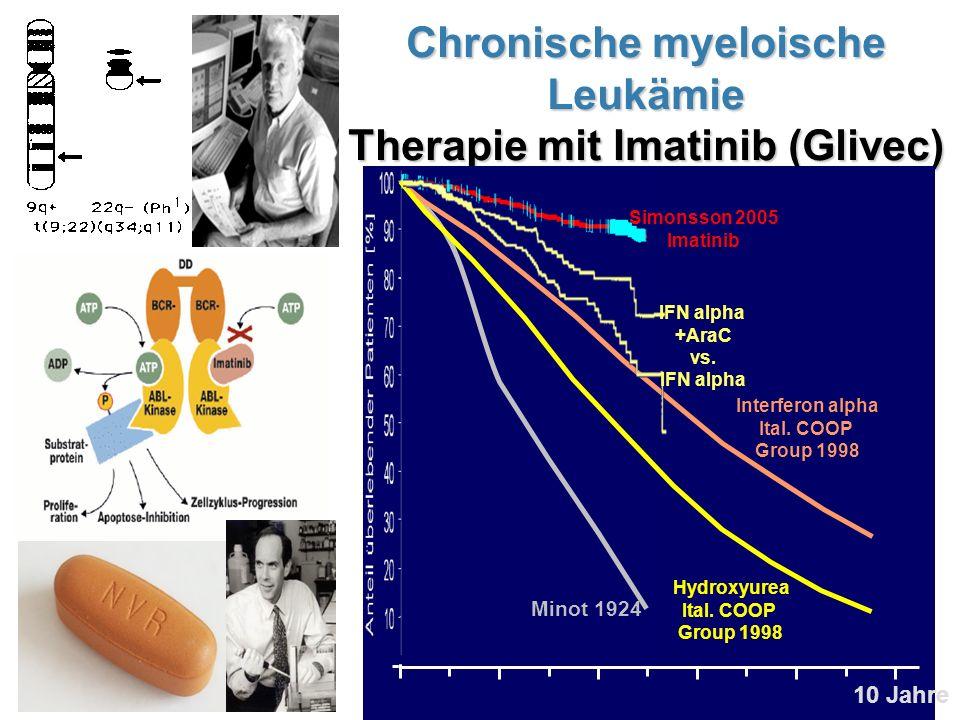 Chronische myeloische Leukämie Therapie mit Imatinib (Glivec)