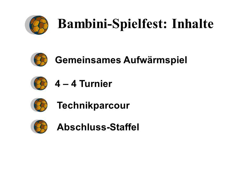 Bambini-Spielfest: Inhalte