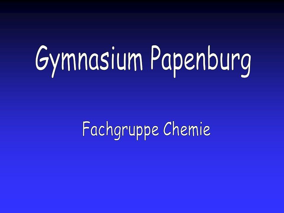 Gymnasium Papenburg Fachgruppe Chemie