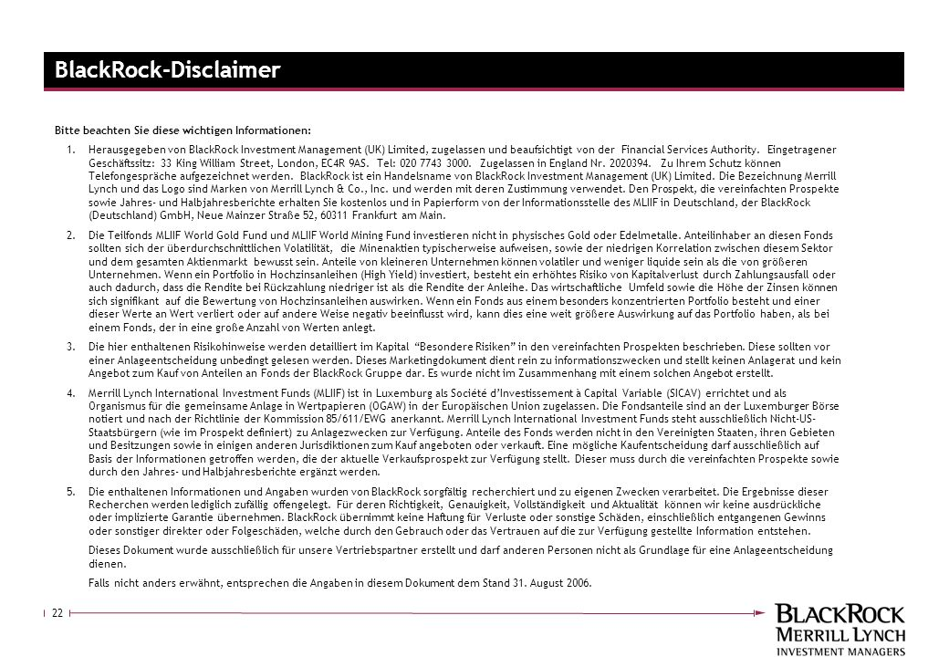 BlackRock-Disclaimer