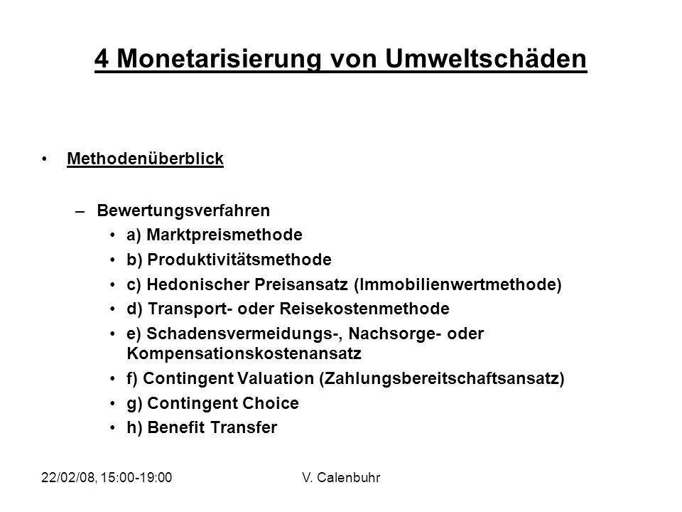 4 Monetarisierung von Umweltschäden