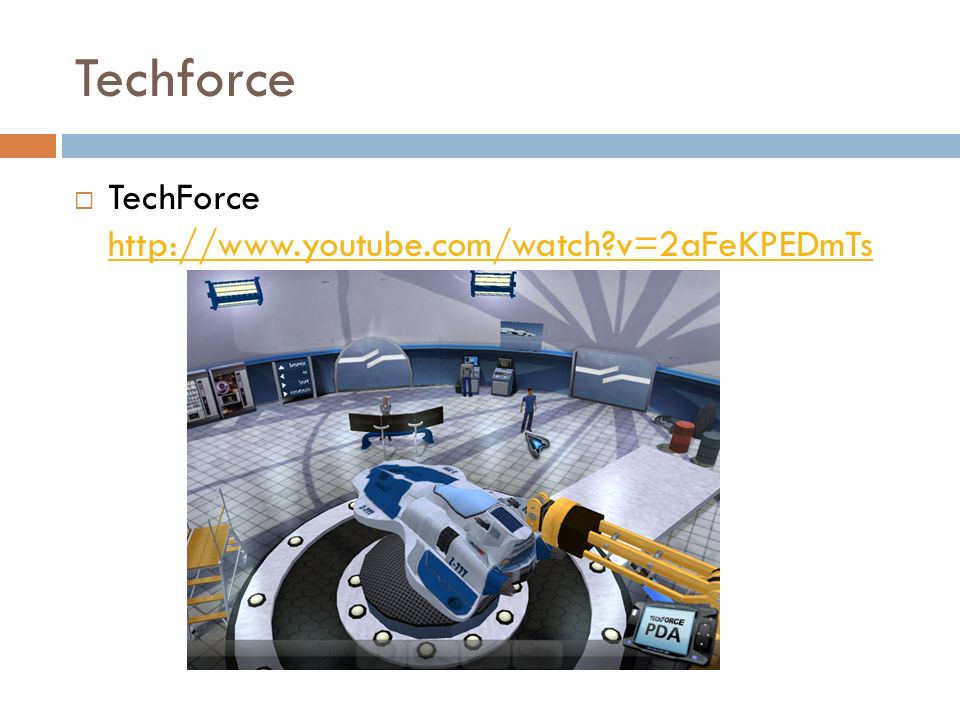 Techforce TechForce http://www.youtube.com/watch v=2aFeKPEDmTs