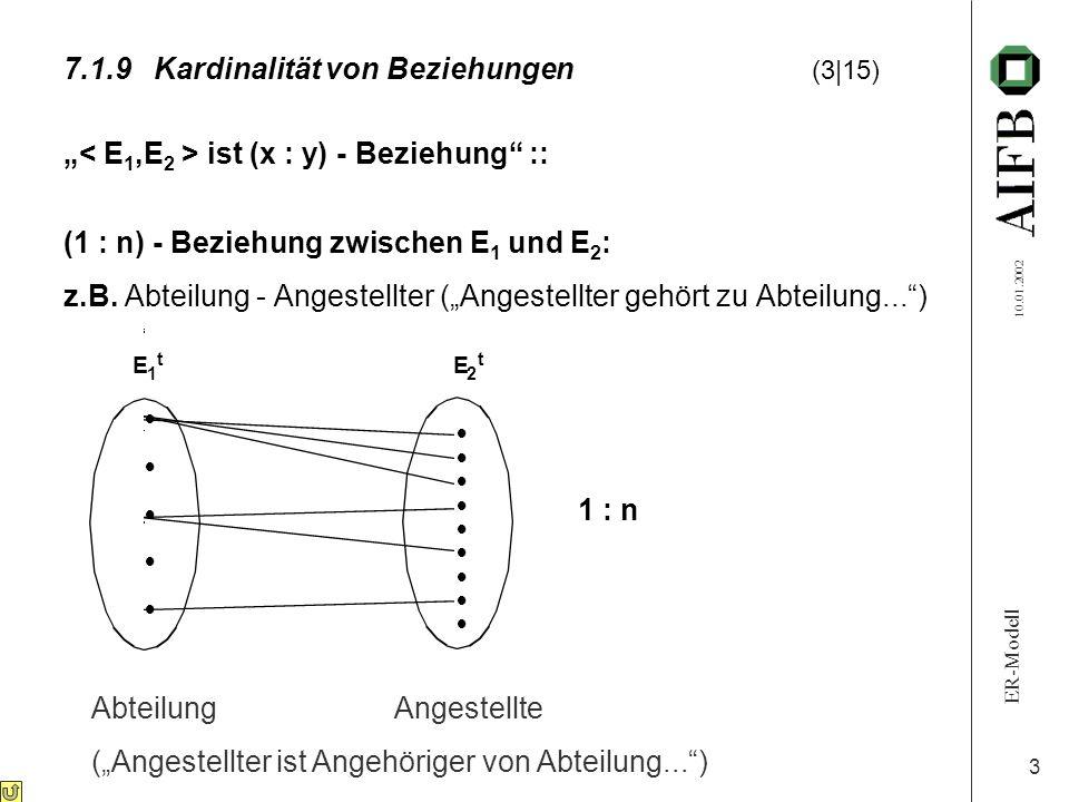 7.1.9 Kardinalität von Beziehungen (3 15)