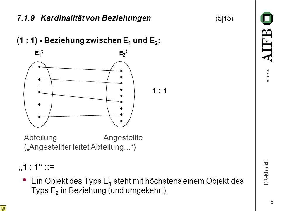 7.1.9 Kardinalität von Beziehungen (5 15)
