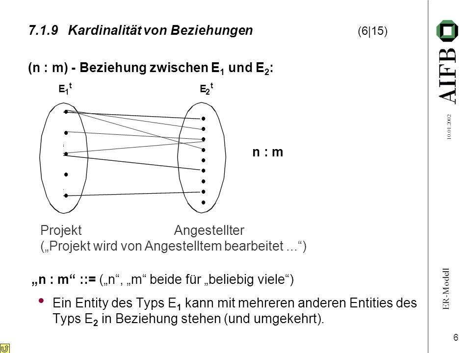 7.1.9 Kardinalität von Beziehungen (6 15)