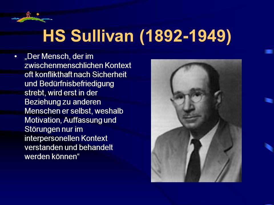 HS Sullivan (1892-1949)