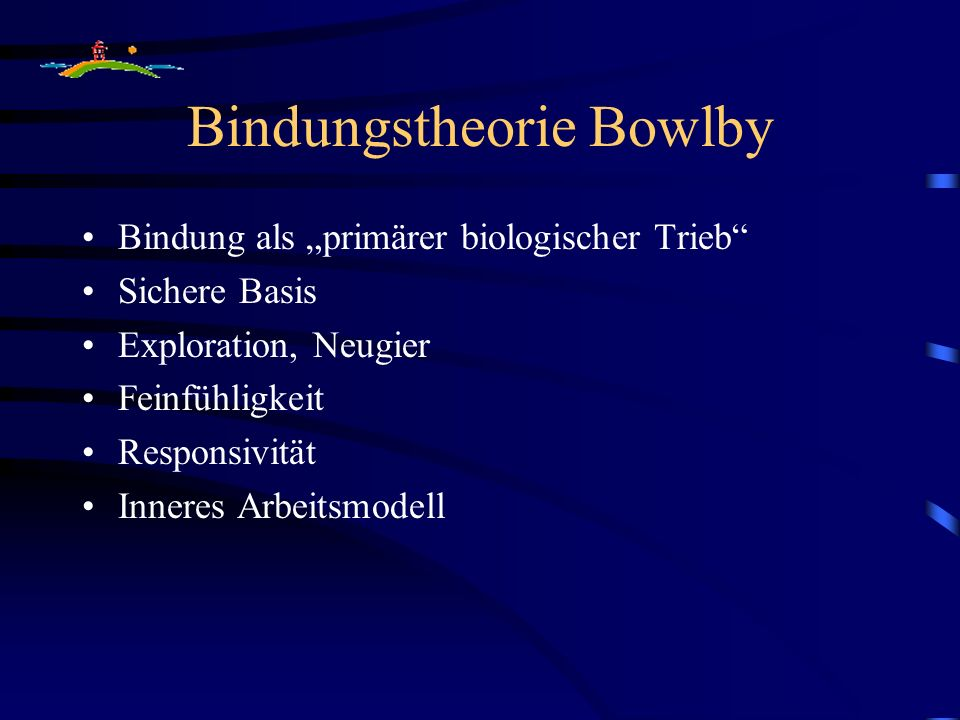 Bindungstheorie Bowlby