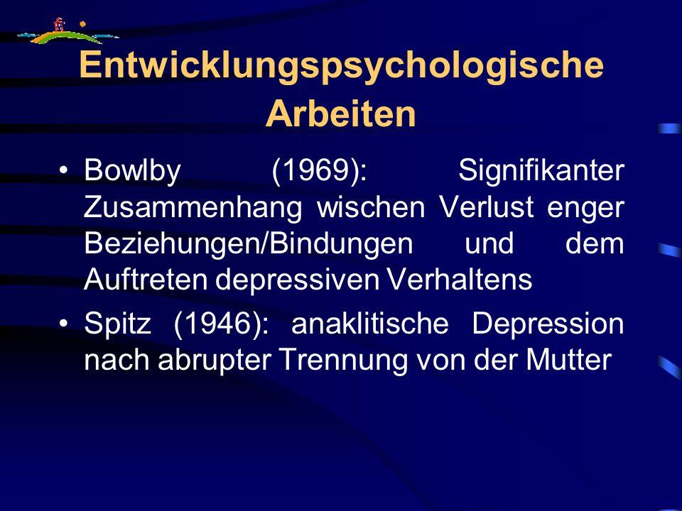 Entwicklungspsychologische Arbeiten