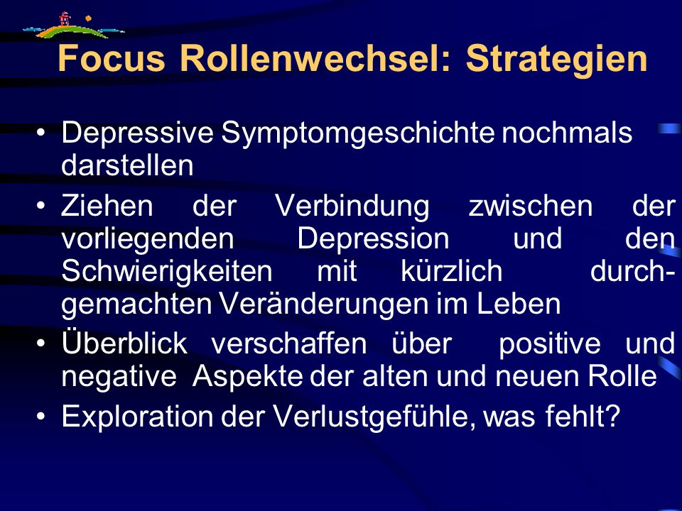 Focus Rollenwechsel: Strategien
