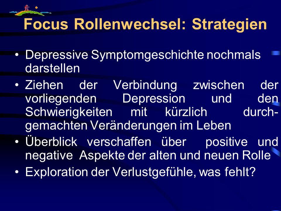 Focus Rollenwechsel: Strategien