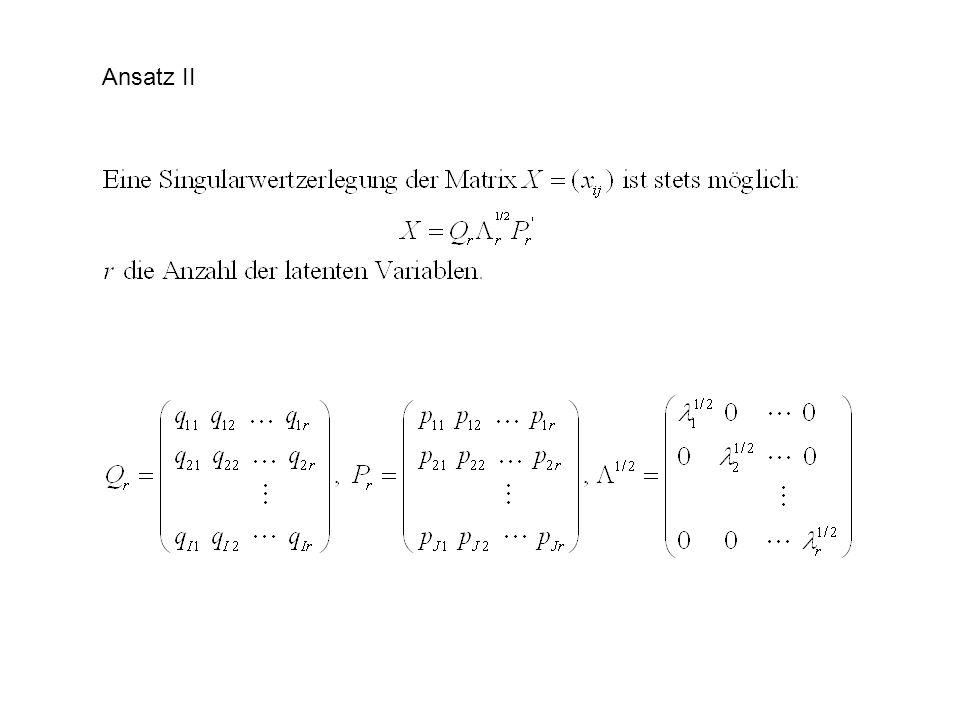 Ansatz II