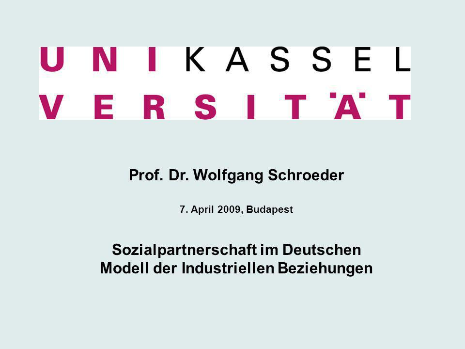 Prof. Dr. Wolfgang Schroeder