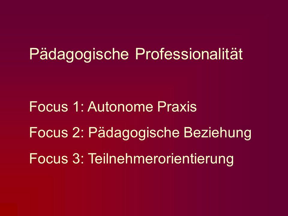 Pädagogische Professionalität