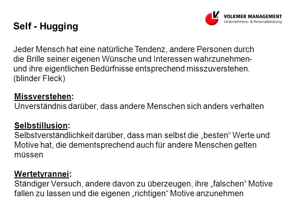Self - Hugging