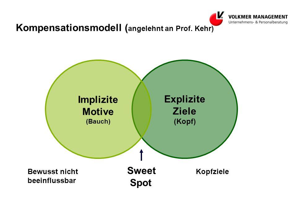 Kompensationsmodell (angelehnt an Prof. Kehr)