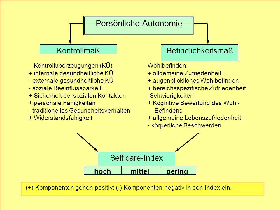 Persönliche Autonomie