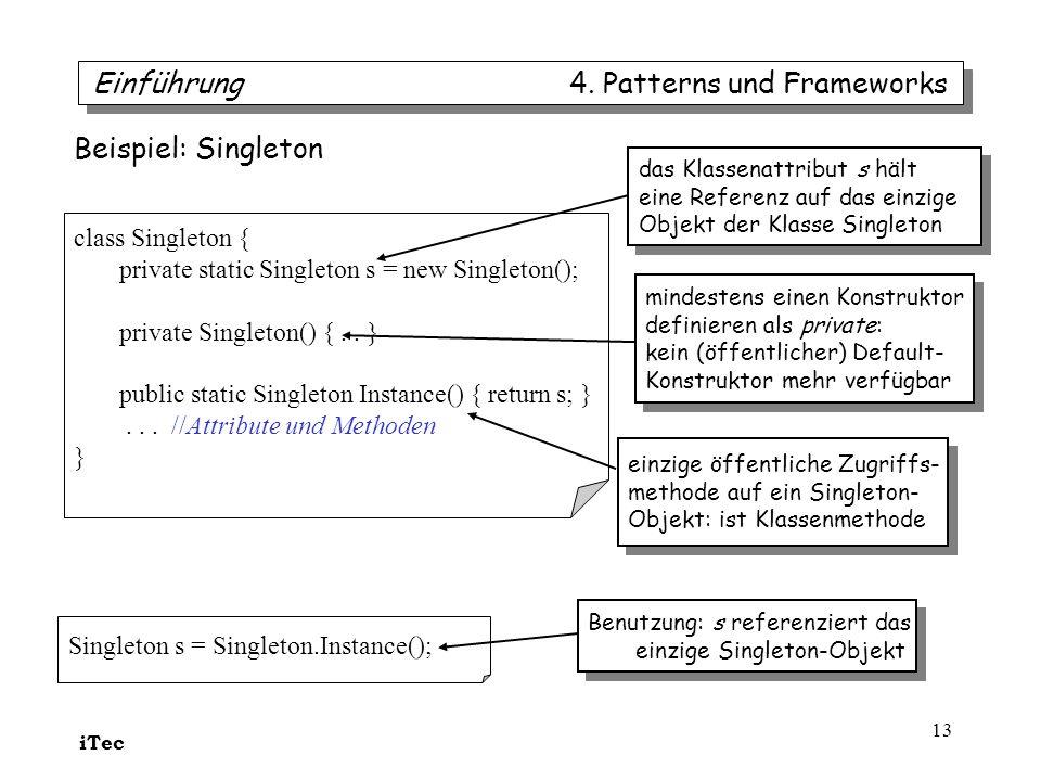 Einführung 4. Patterns und Frameworks