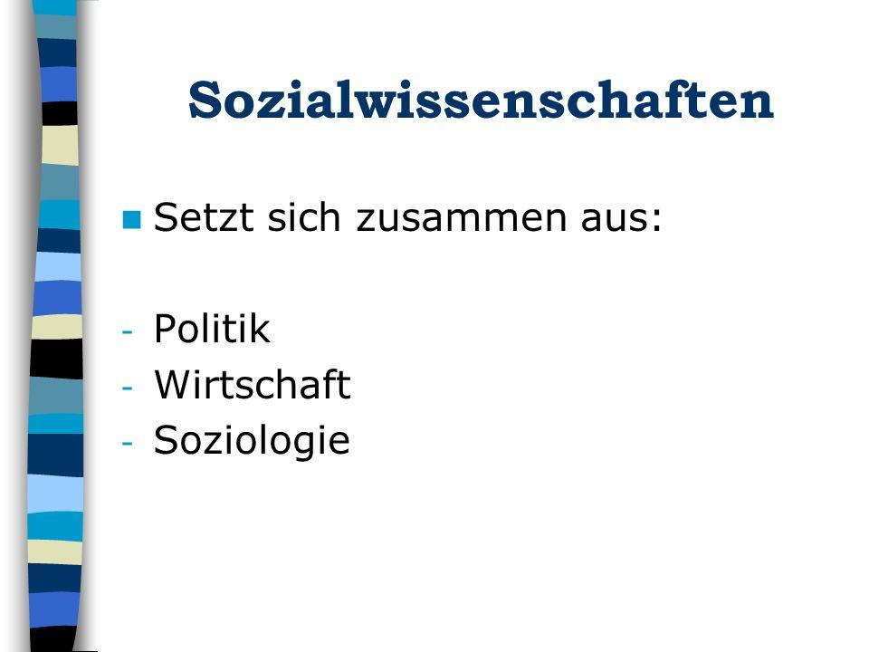 Sozialwissenschaften