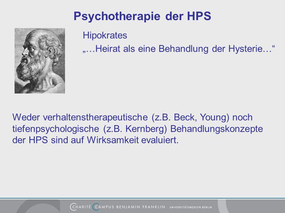 Psychotherapie der HPS