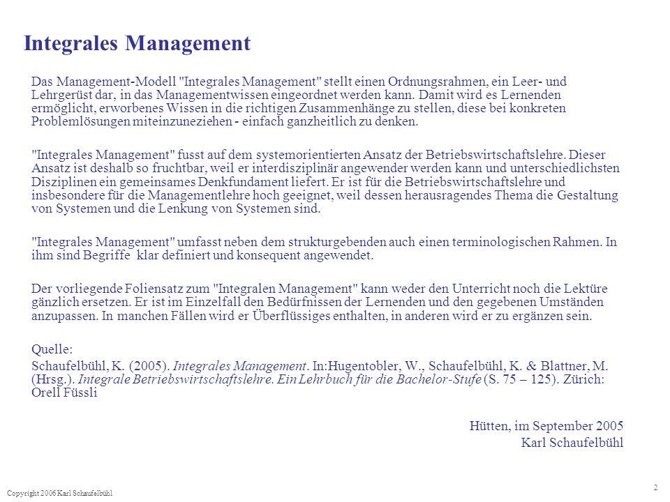 Integrales Management