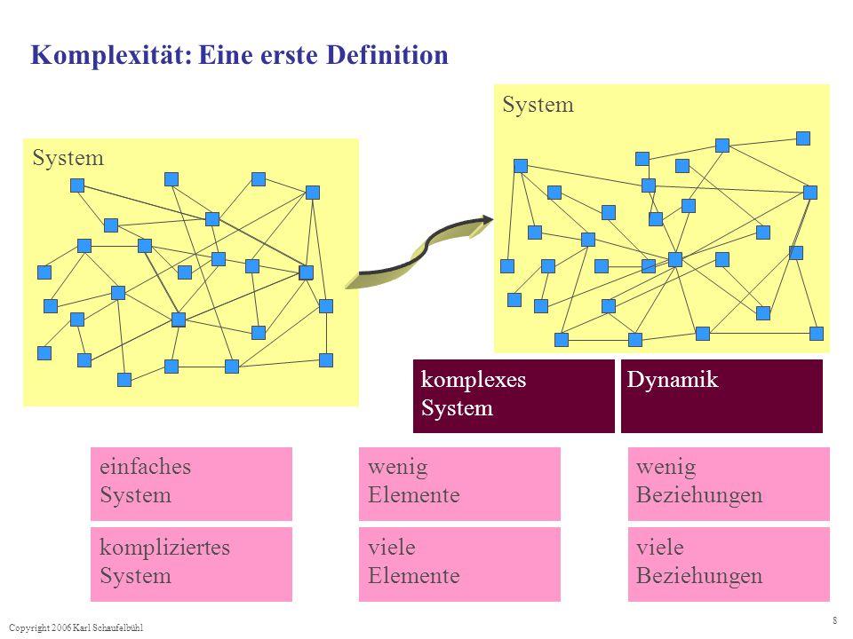 Komplexität: Eine erste Definition