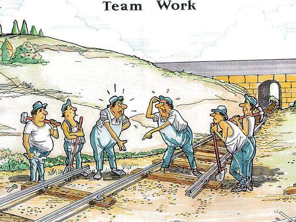 It is TEAMWORK, what we really do need ...