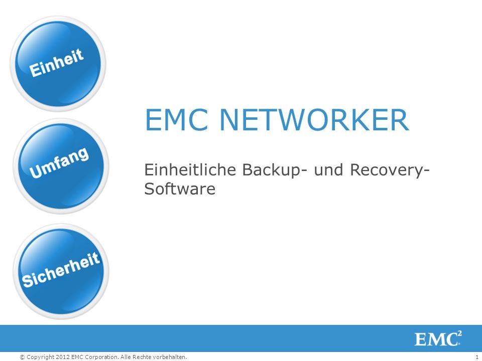 Einheitliche Backup- und Recovery-Software