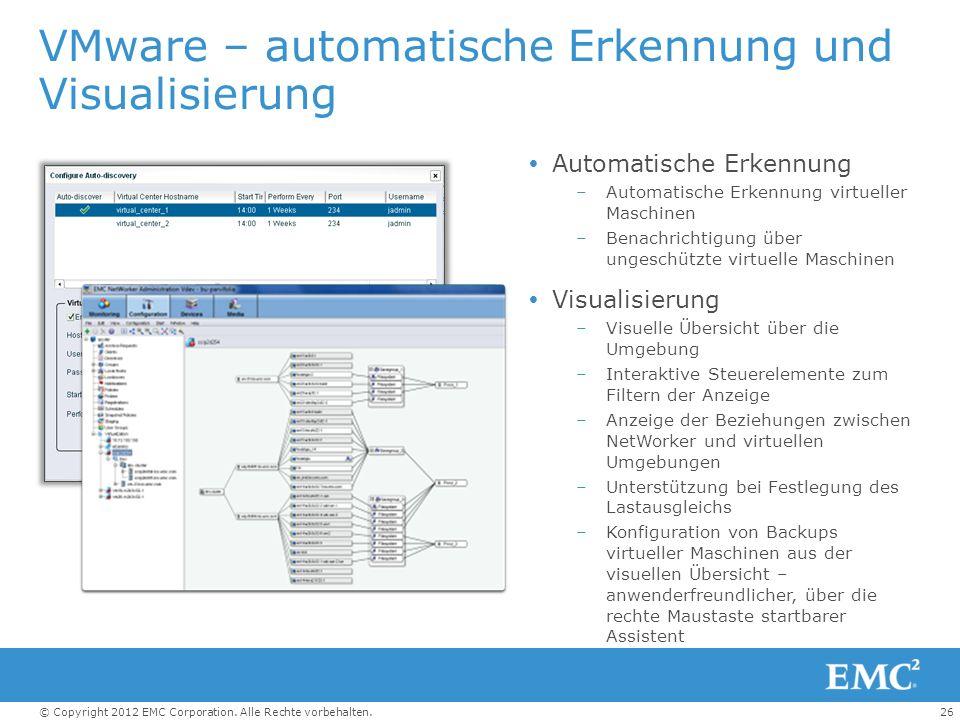 VMware – automatische Erkennung und Visualisierung