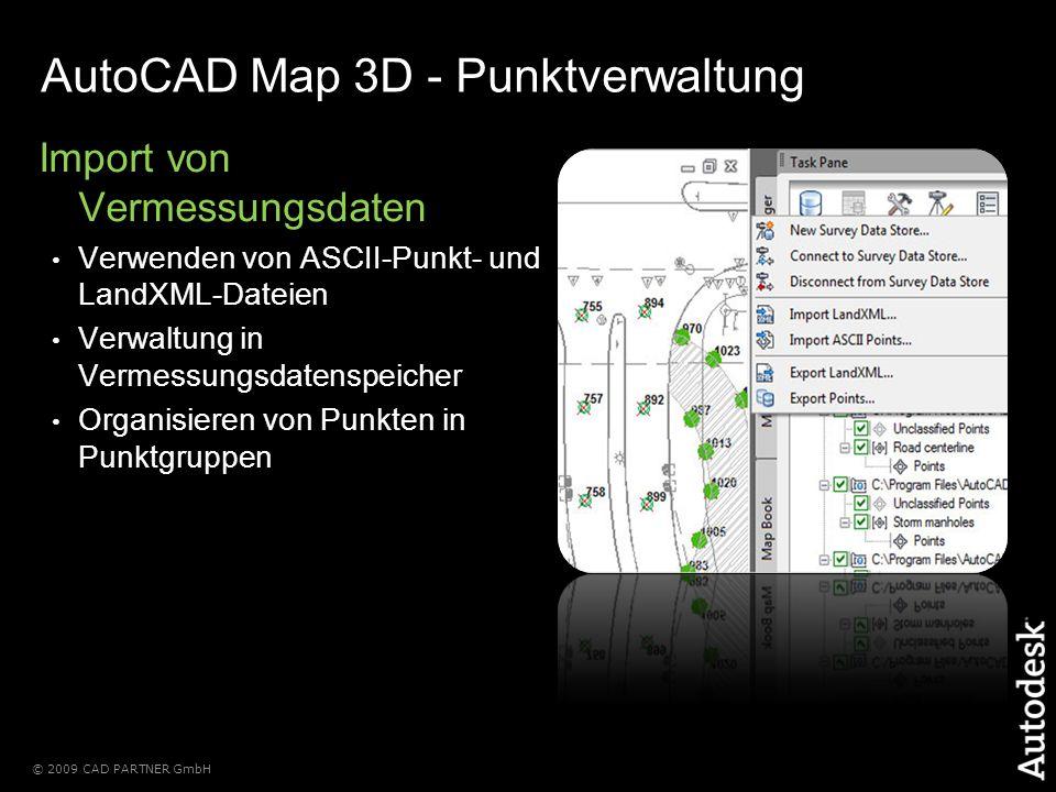 AutoCAD Map 3D - Punktverwaltung