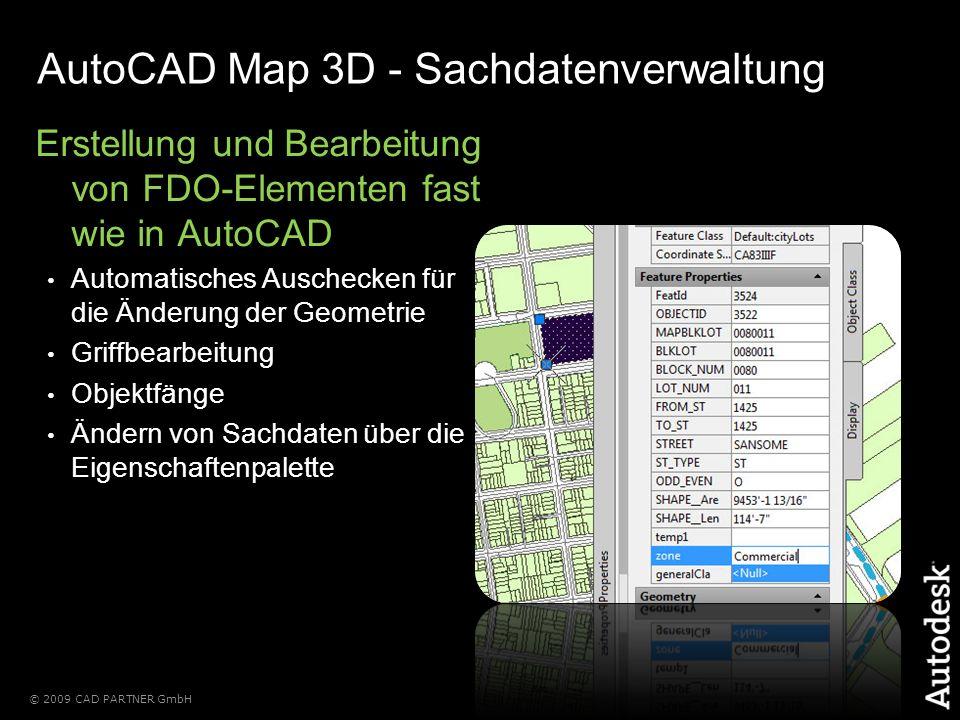 AutoCAD Map 3D - Sachdatenverwaltung