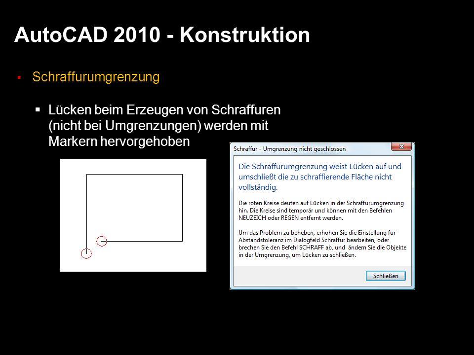 AutoCAD 2010 - Konstruktion