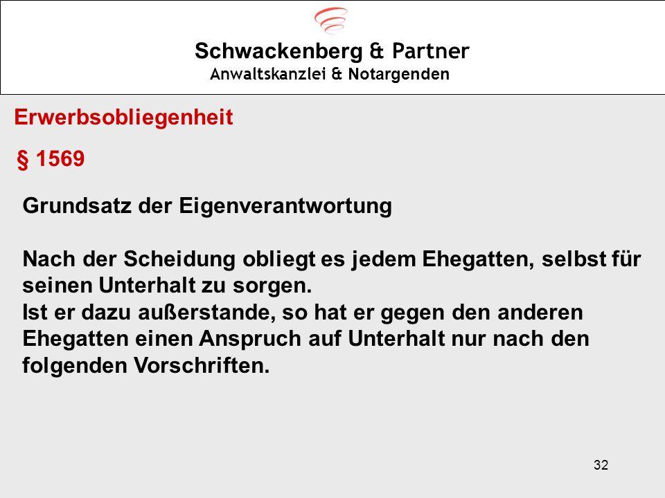 Schwackenberg & Partner Anwaltskanzlei & Notargenden